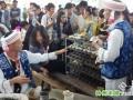 云南普洱茶博览会 商家卖茶拼特色