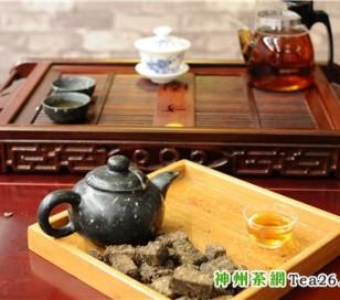 湖南黑茶怎么喝:茯砖茶的冲泡方法