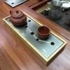 新品上市:干泡铜茶台(铜+竹)