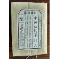 湖南安化黑茶茯砖金花黑茶茯砖茶安华花卷百两茶