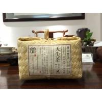 湖南安化金花茯砖茶正宗安华特级茶叶茯茶1kg天尖图