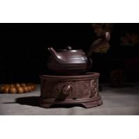 批发侧把壶窑变粗陶日式茶壶茶具