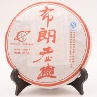 云茶2010年轻发酵布朗老树熟茶357克