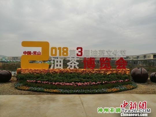 中国·常山油茶博览会开幕 徐安宁 摄