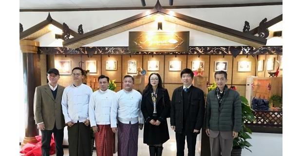 缅甸茶文化馆在广西开馆 开拓在华销售市场