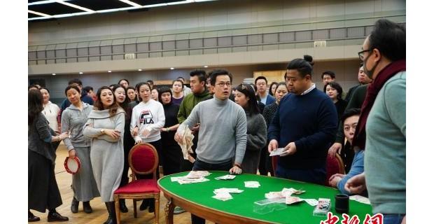 国家大剧院2019开年大戏《茶花女》排练正酣